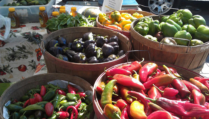 Hilltop Farms' Produce From Willow Springs, NC At The Downtown Raleigh Farmers' Market